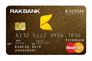 RAKBANK - KALYAN Jewellers Credit Card