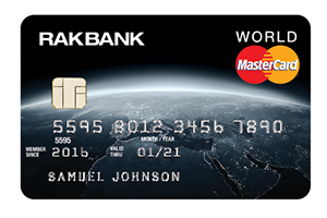 RAKBANK - World MasterCard Credit Card
