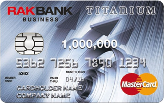 Compare business cards in uae yallacompare rakbank titanium business credit card reheart Image collections