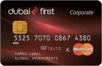 Dubai First Corporate Credit Card