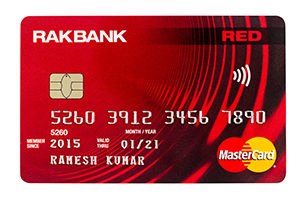 RAKBANK - RED Credit Card