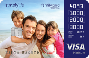 Simplylife - Family Credit Card