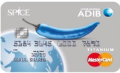 ADIB - Spice Card for UAE Nationals