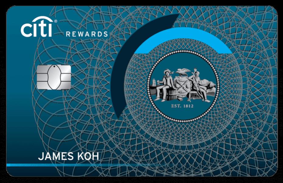 Citibank - Citi Rewards Credit Card
