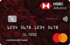 HSBC - Advance MasterCard Credit Card