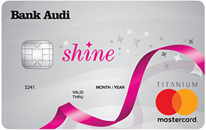 Bank Audi - Shine Credit Card