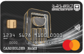 National Bank of Egypt - MasterCard Platinum