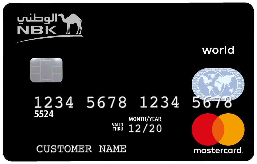 NBK - World MasterCard Credit Card