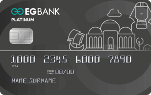 EGBank - Platinum Credit Card