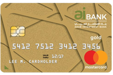 Arab Investment Bank - Gold Credit Card