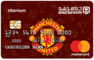 National Bank of Egypt - Mastercard Manshester United