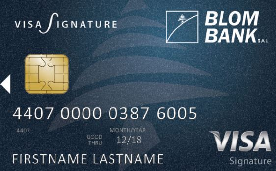 BLOM Bank - Visa Signature Credit Card