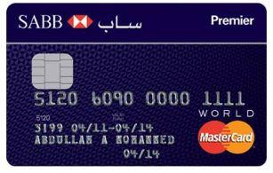 SABB - Premier MasterCard Credit Card