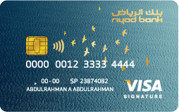 Riyad Bank - Visa Signature Credit Card