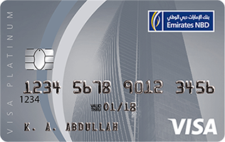 Emirates NBD - Platinum Credit Card
