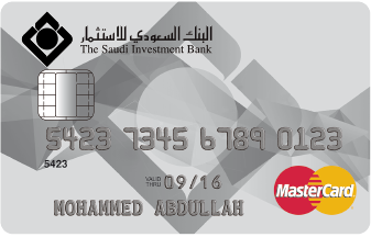 The Saudi Investment Bank - Standard MasterCard