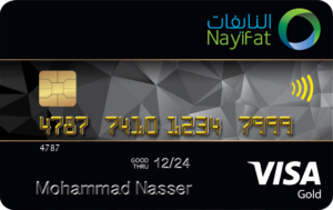 Nayifat - Gold Credit card