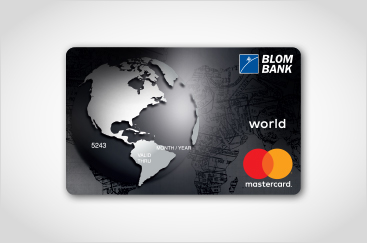 BLOM Bank MasterCard World Card