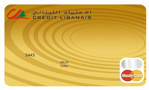 Credit Libanais - MasterCard Gold Credit Card