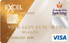 Bank Sohar - Excel Gold Credit Card