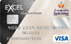 Bank Sohar - Excel Platinum Credit Card