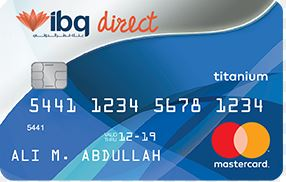 International Bank of Qatar - MasterCard Titanium Credit Card