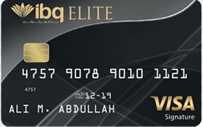 International Bank of Qatar - Visa Signature Credit Card