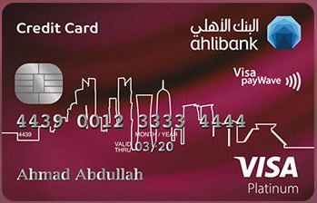 Ahli Bank - Platinum Credit Card