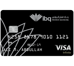 International Bank of Qatar - Visa Infinite Credit Card
