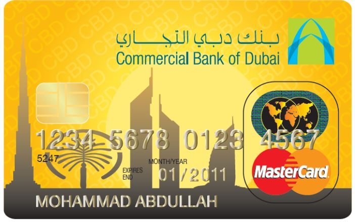 Commercial Bank of Dubai - MasterCard Gold