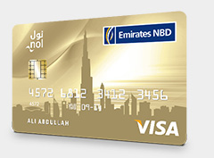 Emirates NBD - Go4it Gold Credit Card