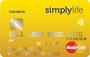 Simplylife - Cashback Credit Card