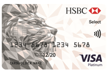 HSBC - Visa Platinum Select Credit Card