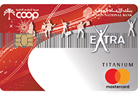 Union National Bank - EXTRA ADCOOP Titanium MasterCard Credit card