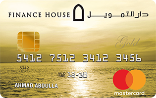 Finance House - MasterCard Gold Credit Card