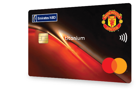 Emirates NBD - Manchester United Credit Card