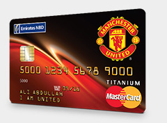 Emirates NBD - Man Utd Credit Card