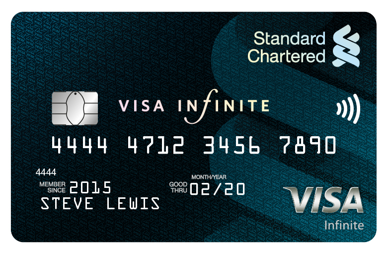 Standard Chartered Bank - Visa Infinite Credit Card