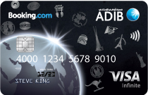 ADIB - Booking.com Infinite Card