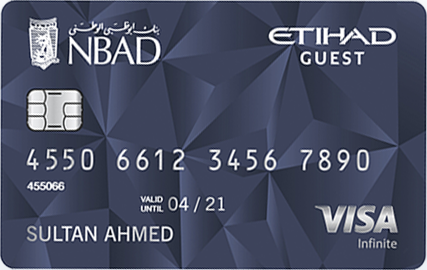 FAB - Etihad Guest Infinite Cards