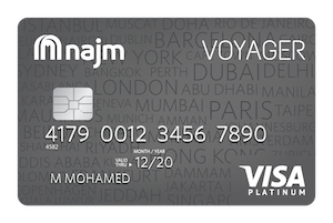 Najm - Voyager Platinum Credit Card