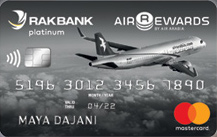 RAKBANK - Air Arabia Platinum Credit Card
