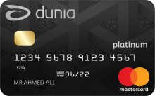 Dunia Finance - Platinum Credit Card