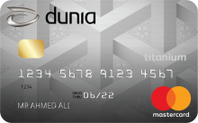Dunia Finance - Titanium Credit Card