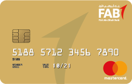 FAB - Gold Credit Card
