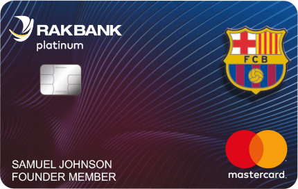RAK Bank - FC Barcelona Platinum Credit Card