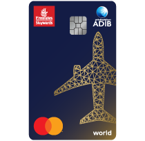 ADIB -  Emirates Skywards World Card