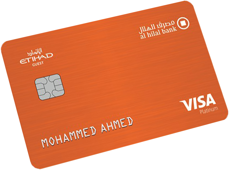 Al Hilal Bank - Etihad Guest Platinum Credit Card